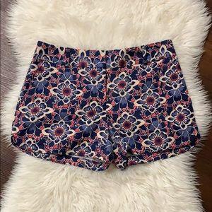Ann Taylor loft cute pattern shorts